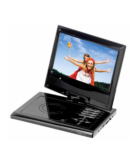 Black 7'' Widescreen LCD Swivel Display