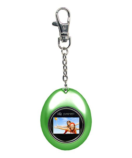 Green Digital Photo Keychain
