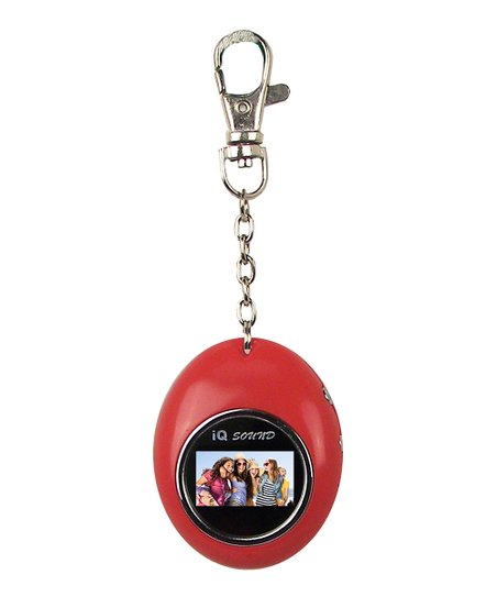 Red Digital Photo Keychain