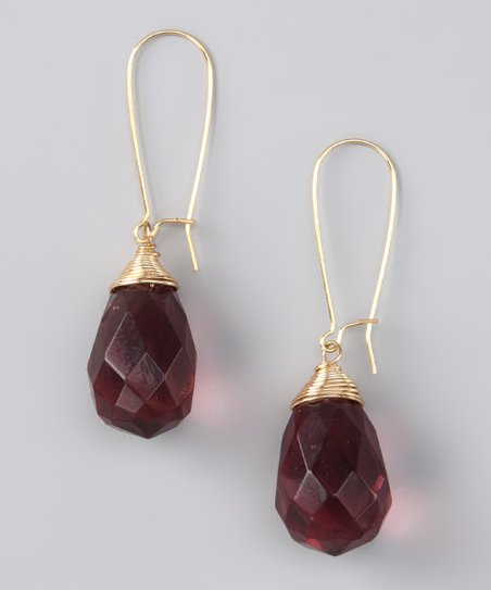 Susan Hanover Wine Earrings