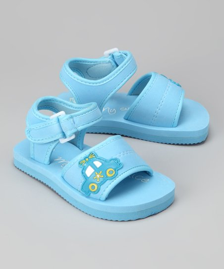 Blue Car Sandal