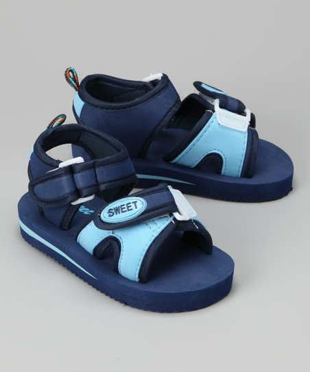 Navy & Light Blue 'Sweet' Sandal