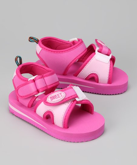 Pink & Light Pink 'Sweet' Sandal