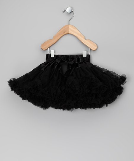 Black Bow Pettiskirt - Infant, Toddler & Girls