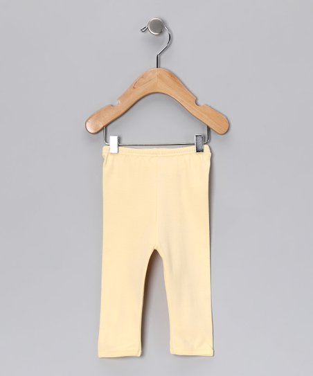 Yellow Gamuza Pants - Infant