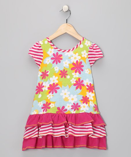 Lime Charlotte Dress - Infant & Toddler