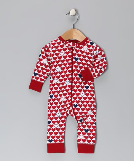 Red L'Amour Organic Playsuit