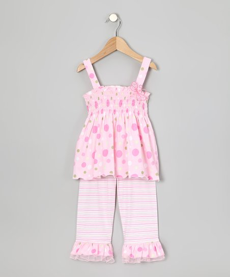 Pink Tank & Leggings - Infant & Girls