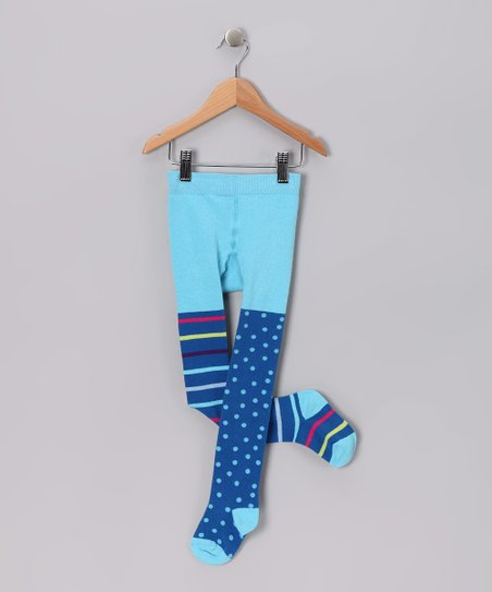 Blue La Paz Tights - Infant