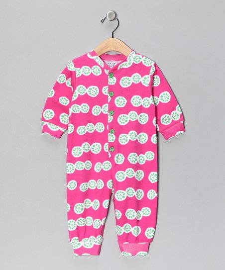 Pink Pomelo Playsuit - Infant