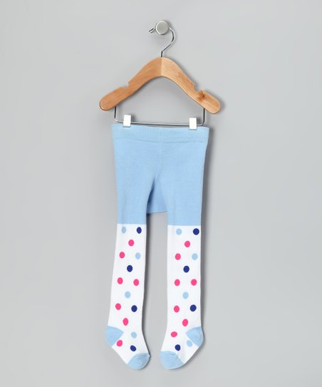Light Blue Fairy Tights - Infant & Toddler