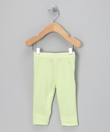 Light Green Cuff Leggings