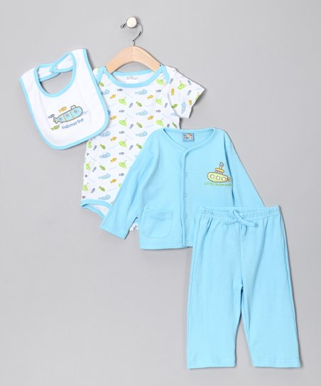 Light Blue Submarine Pants Set
