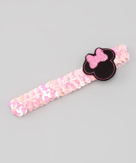 Pink Mouse Sequin Headband