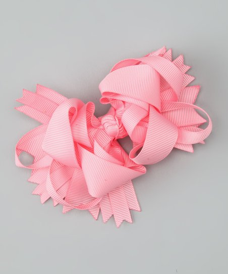 Sweet Treat Bows Pink Princess Bow Clip