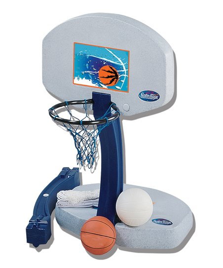 Swimways Pool Basketball &amp; Volleyball Set