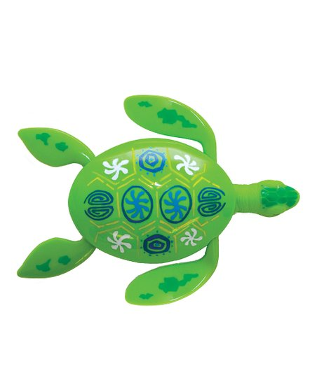 Green Rainbow Reef Turtle Pool Toy