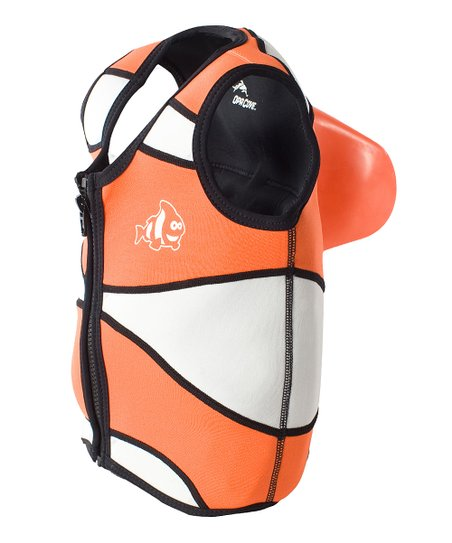 Clown Fish Sea Squirts Swim Vest