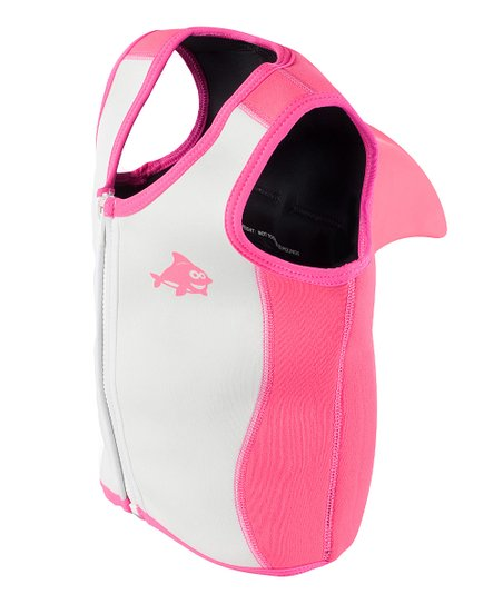 Pink Dolphin Sea Squirts Swim Vest