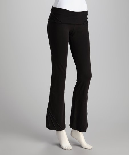 Synergy Black Pico Organic Yoga Pants