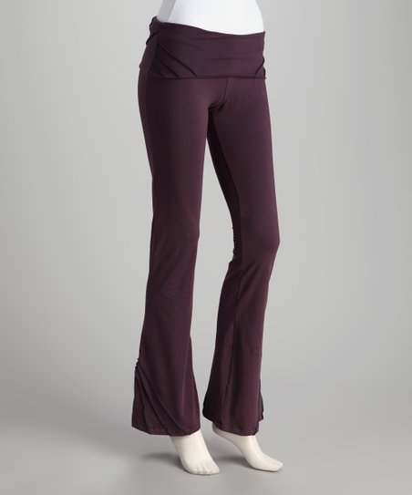 Synergy Plum Pico Organic Yoga Pants
