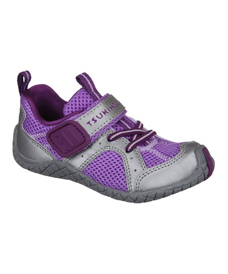 Purple & Steel Marina Sneaker