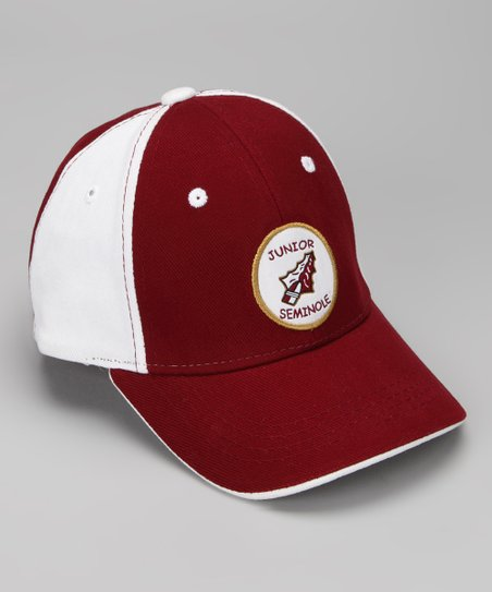 Garnet Florida State &#039;Junior&#039; Mascot Baseball Cap
