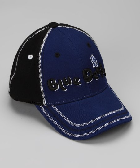 Blue & Black Duke Baseball Cap - Toddler