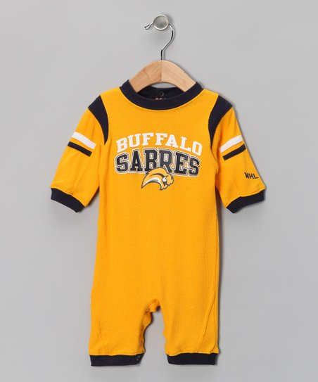 Gold Buffalo Sabres Playsuit - Infant
