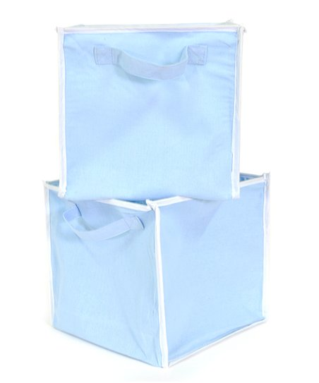Blue Storage Cube - Set of Two