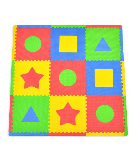 Primary First Shapes Small Play Mat Set