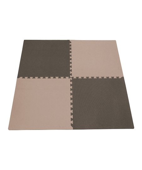 Taupe & Brown Playmat Set