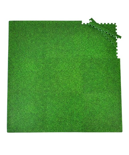 Green Grass Playmat Set