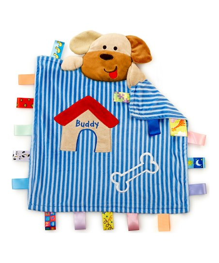 Blue Buddy the Dog Peekaboo Blanket