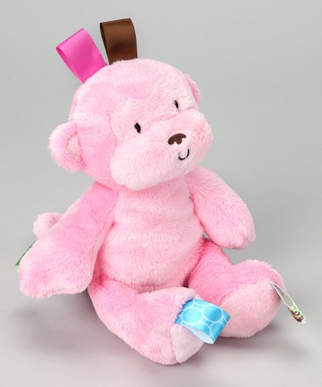 Pink Monkey Plush Toy