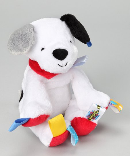 White Puppy Plush Toy
