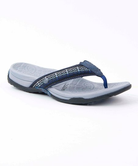 Navy Revolution Flip-Flop