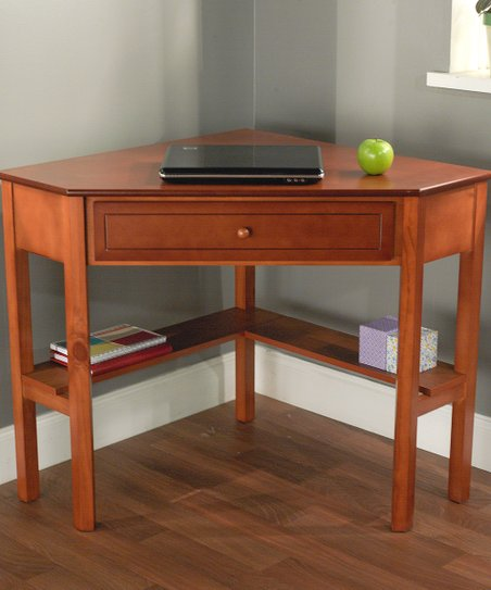 Cherry Corner Desk