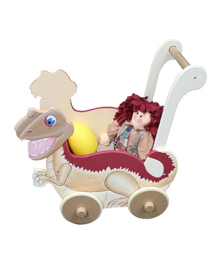 Dinosaur Kingdom Wheeled Pushcart