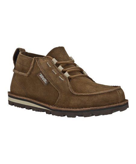 Brown Atoll Chukka Suede Shoe