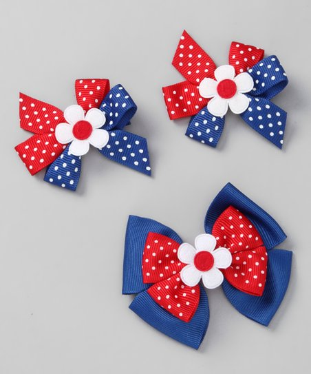 Patriotic Bow Set