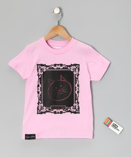 Pink Masterpiece Chalkboard Tee - Toddler & Kids