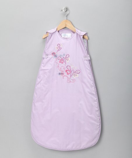 Lavender Flutterbye Sleeping Sack - Infant