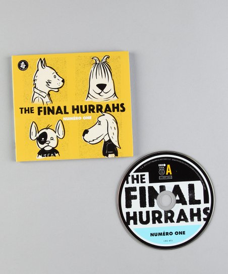 The Final Hurrahs 'Numero One' CD