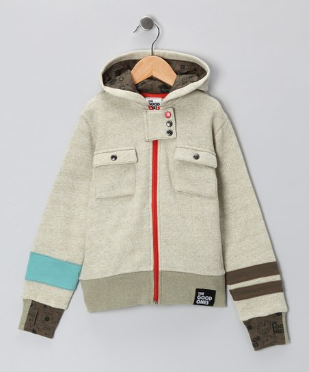 Light Olive Road Trip Hoodie - Infant, Toddler & Boys