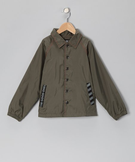 Olive World Tour Jacket - Infant, Toddler & Boys