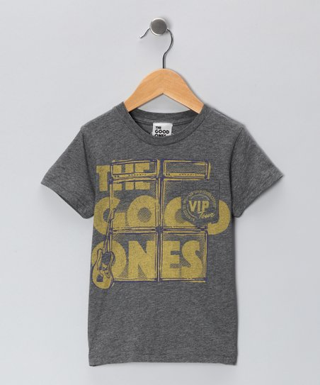 Athletic Gray Stage Stack Pocket Tee - Toddler & Boys