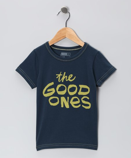 Blue 'The Good Ones' Graffiti Tee - Toddler & Boys