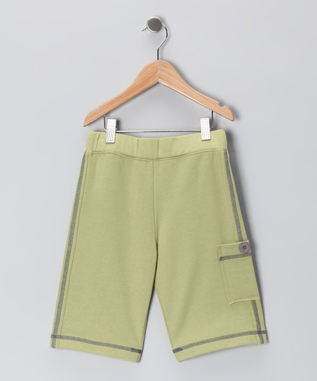 Celery Green Surf Bored Shorts - Toddler & Boys