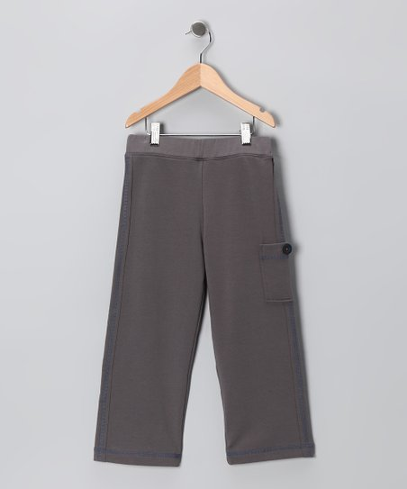 Steel Gray Straight & Narrows Pants - Toddler & Boys